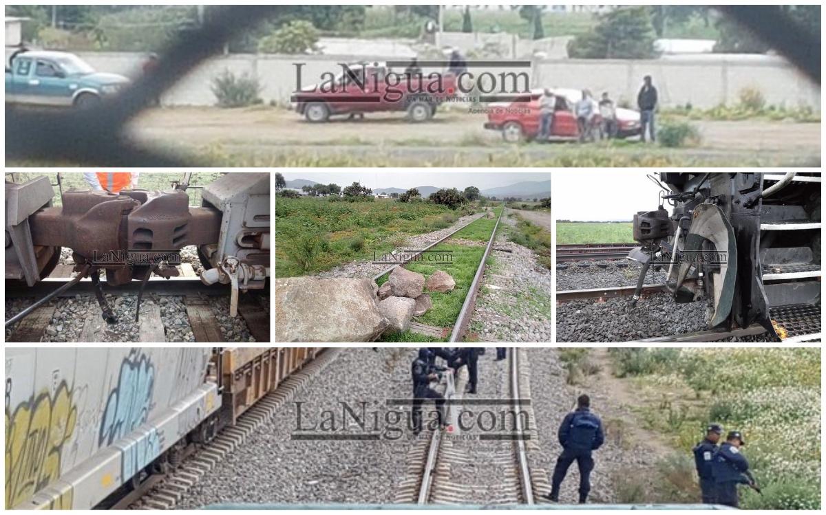 Robo a trenes en Veracruz